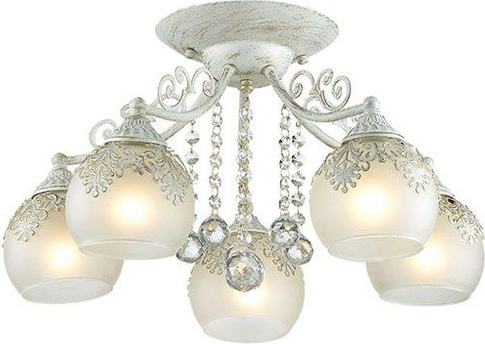 Люстра потолочная Lumion Tinetta, цвет: белый, E14, 60 Вт. 3256/5C3256/5C