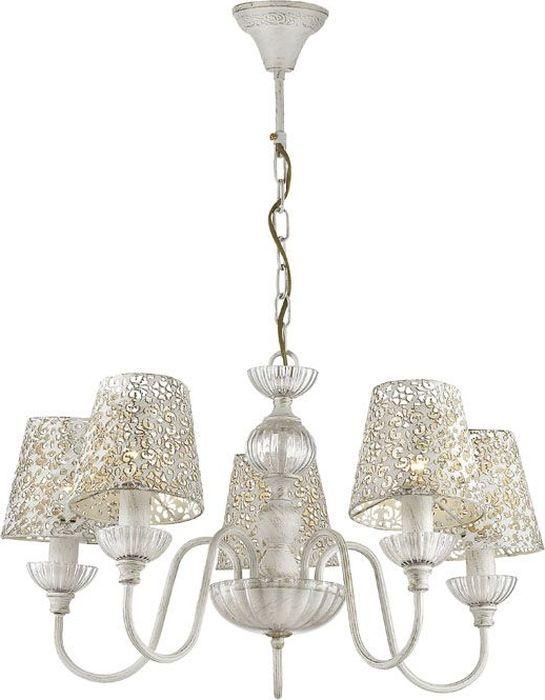 Люстра подвесная Lumion Godelina White, цвет: белый, E14, 60 Вт. 3261/53261/5