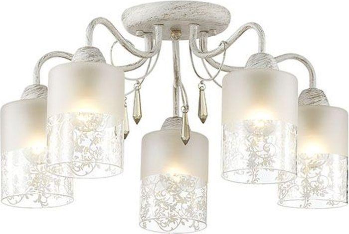 Люстра потолочная Lumion Imani White, цвет: белый, E14, 60 Вт. 3263/5C3263/5C