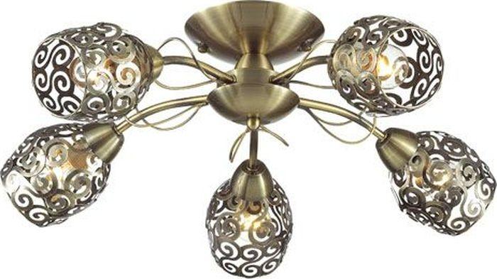 Люстра потолочная Lumion Berenis Bronze, цвет: бронза, E14, 60 Вт. 3264/5C3264/5C
