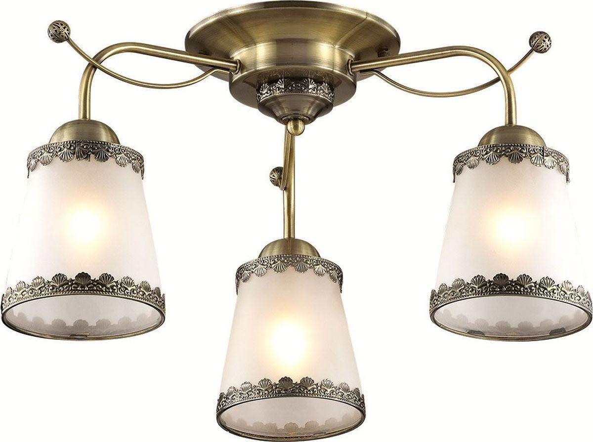 Люстра потолочная Lumion Abbi Bronze, цвет: белый, E27, 60 Вт. 3266/3C3266/3C