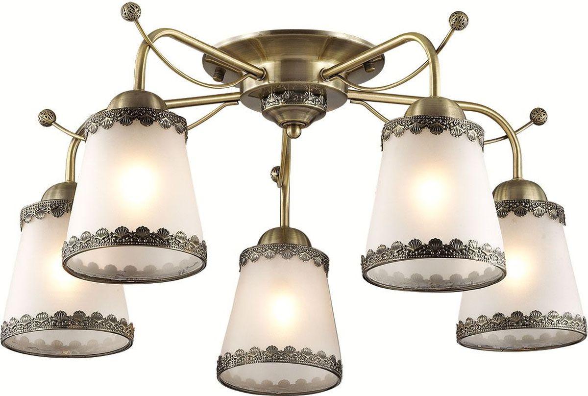 Люстра потолочная Lumion Abbi Bronze, цвет: белый, E27, 60 Вт. 3266/5C3266/5C