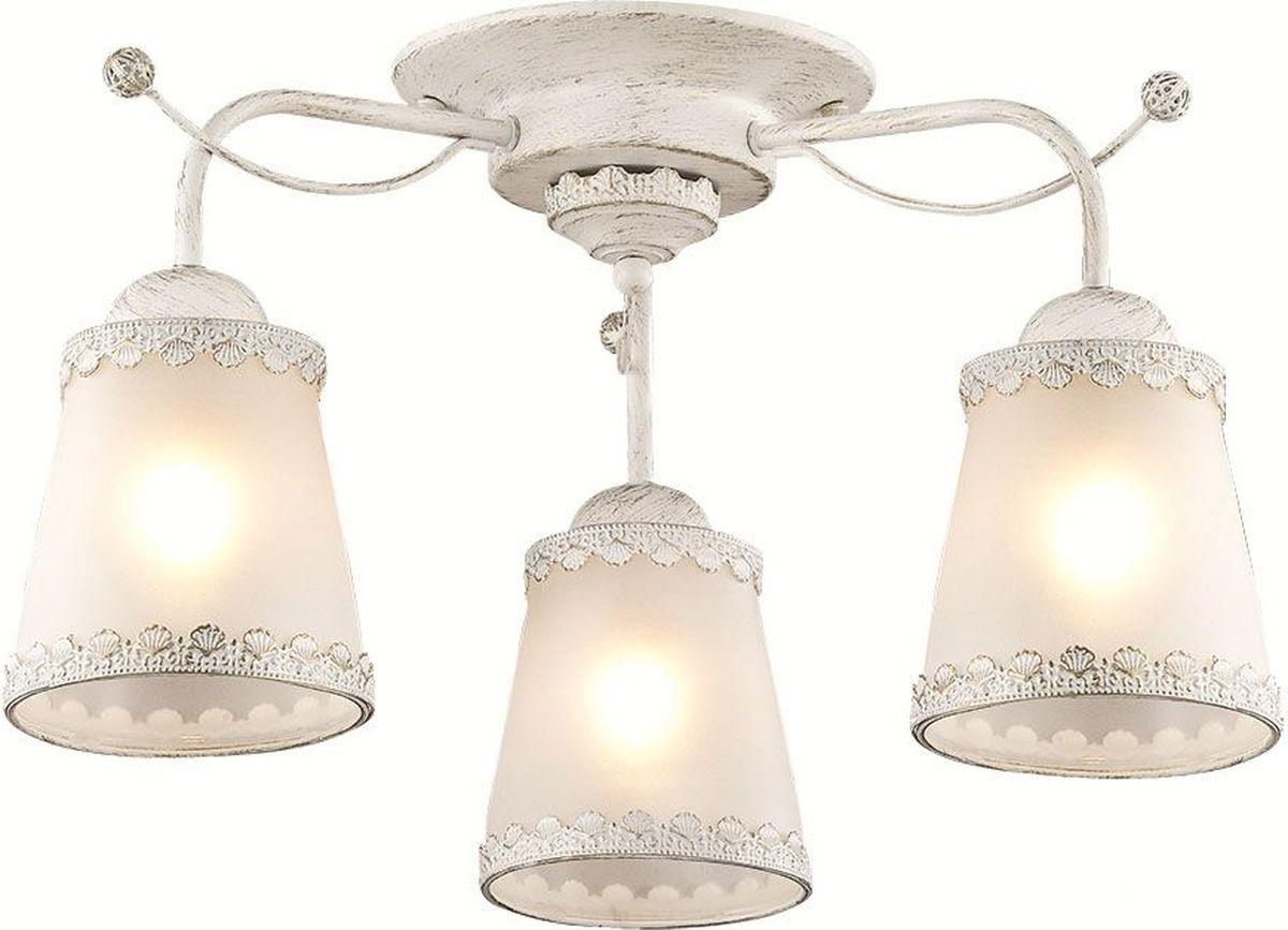 Люстра потолочная Lumion Abbi White, цвет: белый, E27, 60 Вт. 3267/3C3267/3C