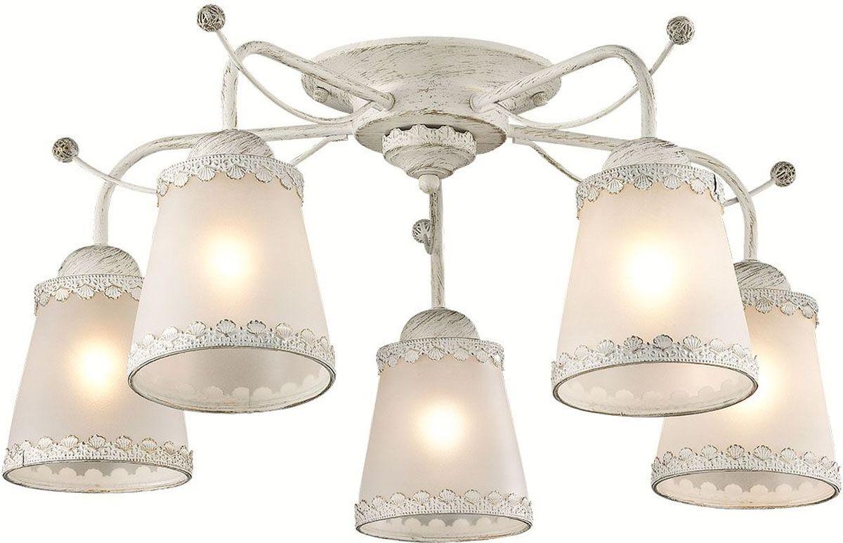 Люстра потолочная Lumion Abbi White, цвет: белый, E27, 60 Вт. 3267/5C3267/5C