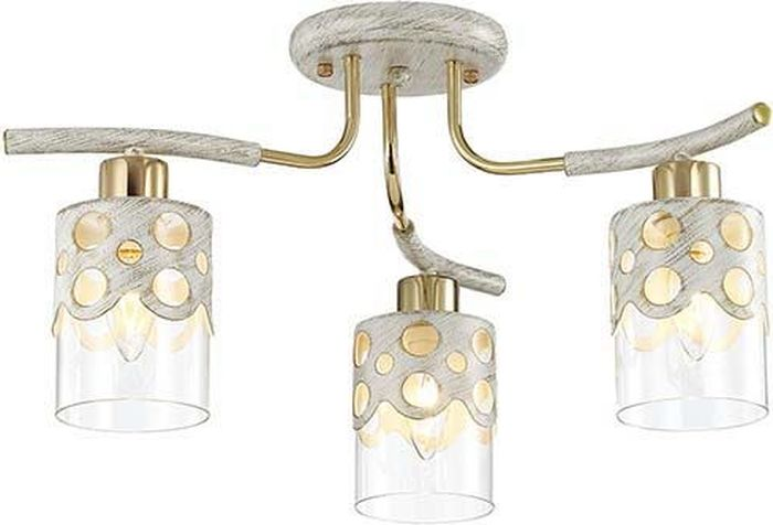 Люстра потолочная Lumion Colett White, цвет: прозрачный, E14, 60 Вт. 3271/3C 1pcs gm1358 30 130db digital sound level meter noise tester in decibels lcd screen hot sales
