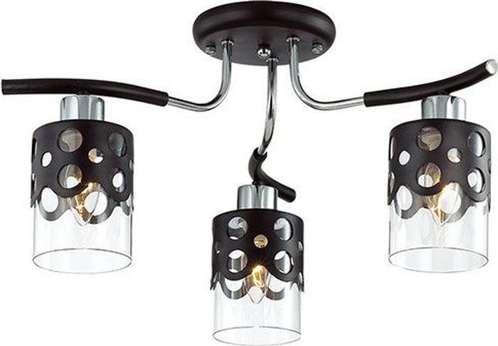 Люстра потолочная Lumion Colett Wenge, цвет: прозрачный, E14, 60 Вт. 3272/3C3272/3C