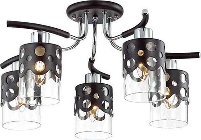 Люстра потолочная Lumion Colett Wenge, цвет: прозрачный, E14, 60 Вт. 3272/5C3272/5C