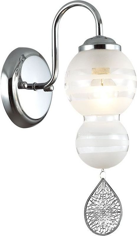 Бра Lumion Piretta Chrome, цвет: белый, E14, 60 Вт. 3274/1W3274/1W