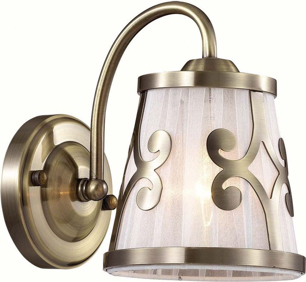Бра Lumion Fetida Bronze, цвет: белый, E14, 60 Вт. 3285/1W3285/1W