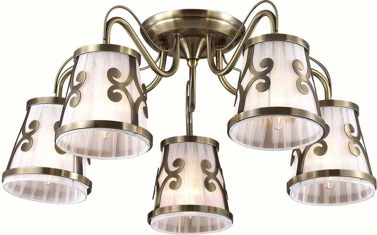 Люстра потолочная Lumion Fetida Bronze, цвет: белый, E14, 60 Вт. 3285/5C3285/5C