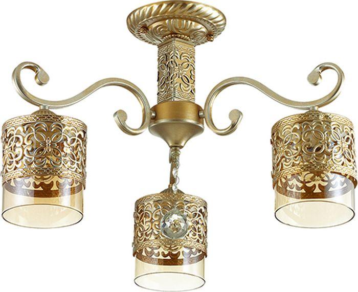Люстра потолочная Lumion Zarlina, цвет: прозрачный, E27, 40 Вт. 3286/3C3286/3C
