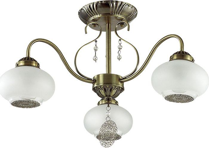 Люстра потолочная Lumion Emilina, цвет: белый, E14, 40 Вт. 3287/3C3287/3C