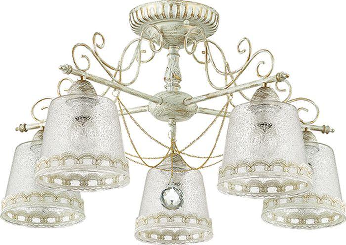 Люстра потолочная Lumion Toinetta, цвет: белый, E14, 40 Вт. 3308/5C3308/5C