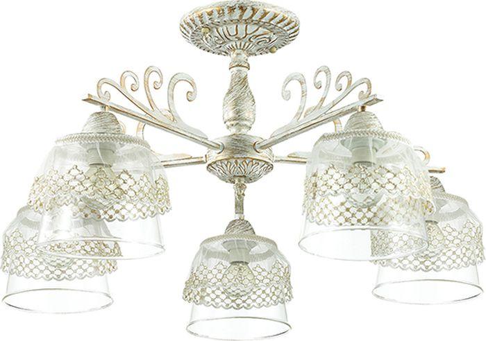 Люстра потолочная Lumion Kapukaina, цвет: белый, E14, 40 Вт. 3310/5C3310/5C
