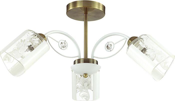 Люстра потолочная Lumion Rulla, цвет: прозрачный, E14, 40 Вт. 3407/3C3407/3C