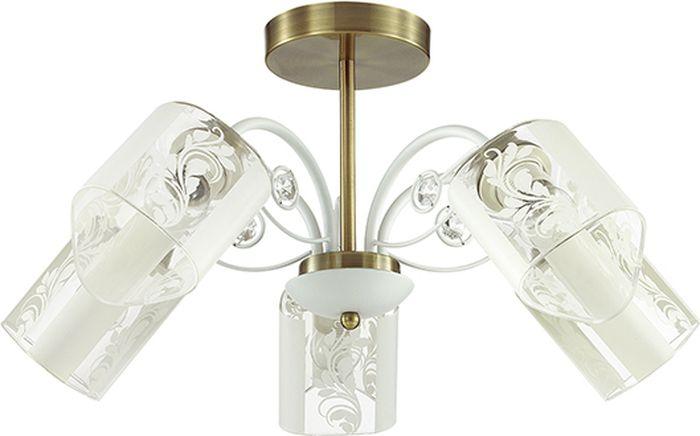 Люстра потолочная Lumion Rulla, цвет: прозрачный, E14, 40 Вт. 3407/5C3407/5C