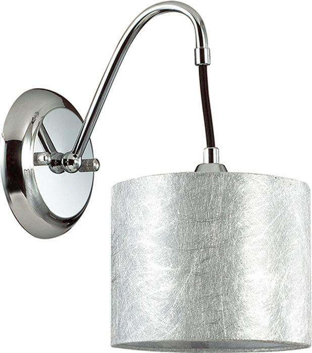 Бра Lumion Odri, цвет: серебро, E14, 40 Вт. 3412/1W3412/1WИтальянский бренд Lumion известен сочетанием достойного качества продукции с ее адекватной стоимостью. Поэтому если вы ищете прибор для освещения интерьера в стиле модерн, рекомендуем присмотреться к бра Lumion Odri, изготовленному данным брендом. Эта модель имеет стильный дизайн и идеальна для размещения в гостиной, спальне или прихожей. Отборные материалы производства и качественно сделанная электрика обеспечивают надежную работу светильника на протяжении многих лет. Основание устройства изготовлено из металла, абажур – из ткани. Благодаря мощности в 40 Вт, можно осветить пространство площадью в 2,2 кв.м. При этом необходимо использовать лампочки с цоколем 1 x E14.