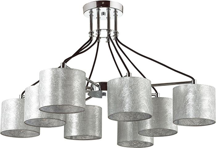 Люстра потолочная Lumion Odri, цвет: серебро, E14, 40 Вт. 3412/83412/8