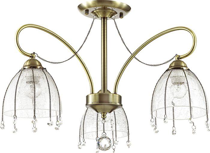 Люстра потолочная Lumion Arletta, цвет: прозрачный, E14, 40 Вт. 3414/3C3414/3C