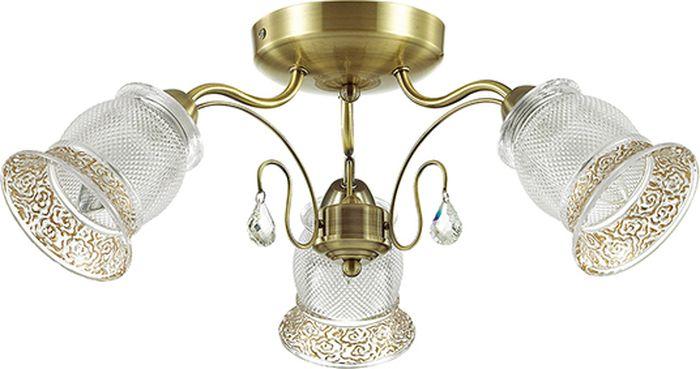 Люстра потолочная Lumion Rakella, цвет: белый, E14, 40 Вт. 3415/3C3415/3C