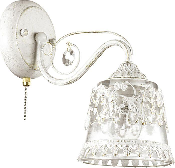 Бра Lumion Olimpia White, цвет: прозрачный, E14, 60 Вт. 3433/1W3433/1W