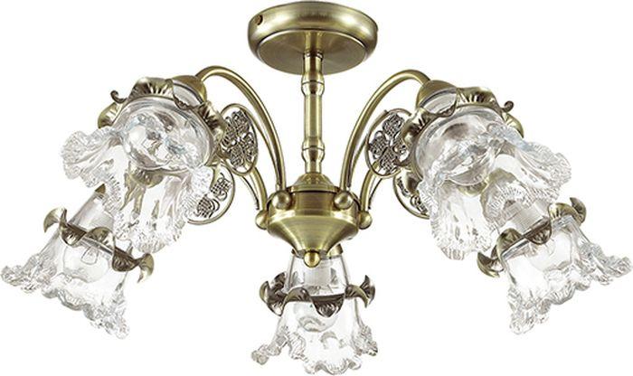 Люстра потолочная Lumion Eloisa, цвет: прозрачный, E14, 60 Вт. 3450/5C3450/5C