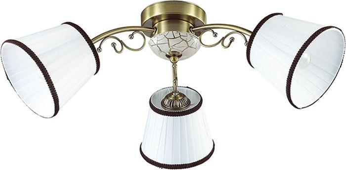 Люстра потолочная Lumion Ulali, цвет: белый, E14, 60 Вт. 3451/3C3451/3C