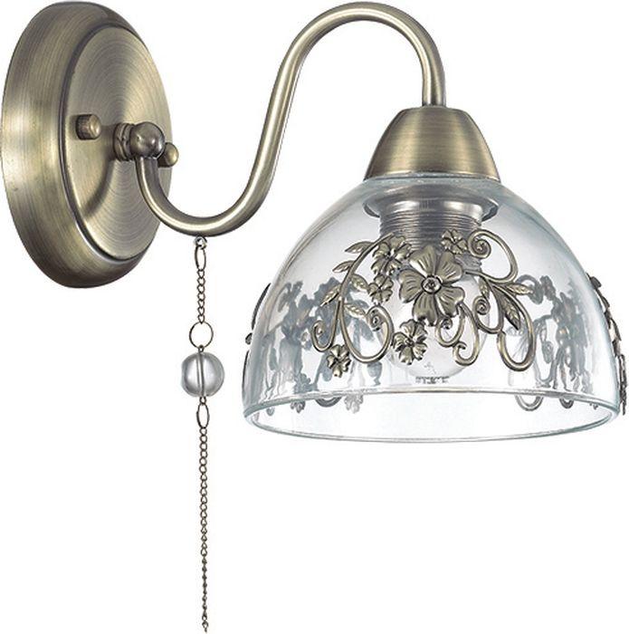 Бра Lumion Absolona Bronze, цвет: прозрачный, E27, 60 Вт. 3452/1W3452/1W
