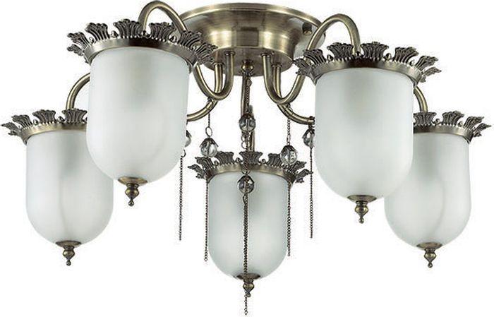 Люстра потолочная Lumion Denissa, цвет: белый, E14, 40 Вт. 3456/5C3456/5C