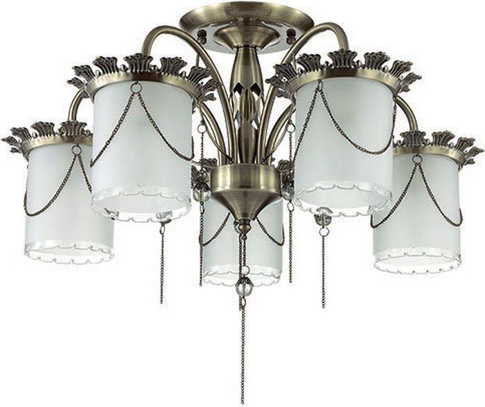 Люстра потолочная Lumion Ilberta, цвет: белый, E14, 40 Вт. 3457/5C3457/5C