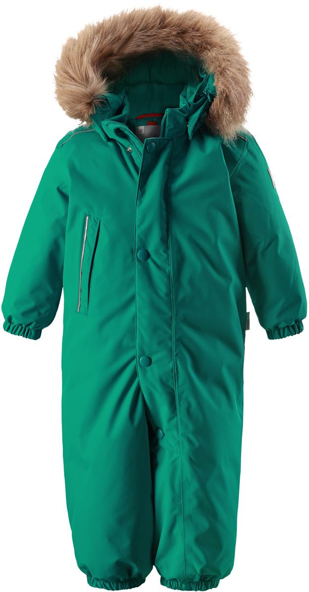 Комбинезон утепленный детский Reima Reimatec Gotland, цвет: зеленый. 5102708860. Размер 74