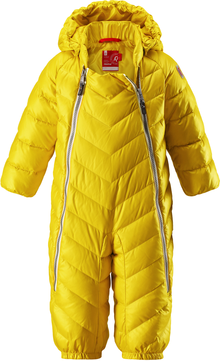 Комбинезон утепленный детский Reima Unetus, цвет: желтый. 5102732390. Размер 74 reima комбинезон bunny