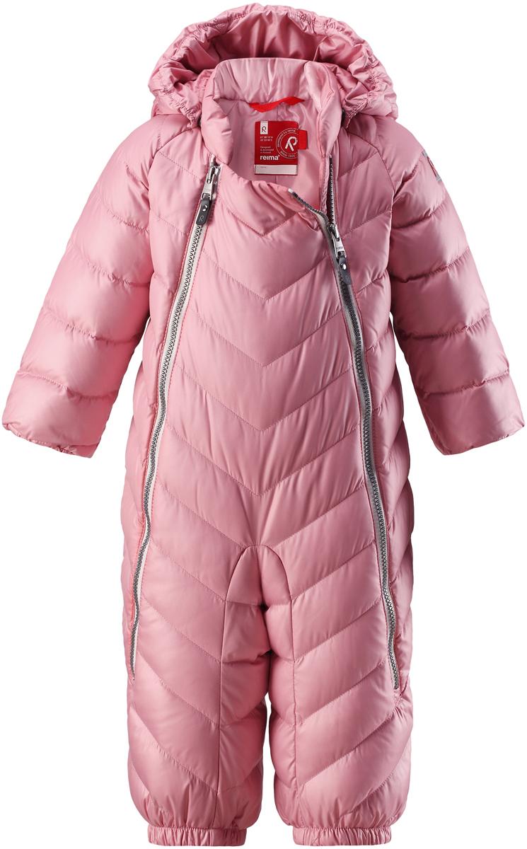 Комбинезон утепленный для девочки Reima Unetus, цвет: розовый. 5102734320. Размер 74 reima комбинезон bunny