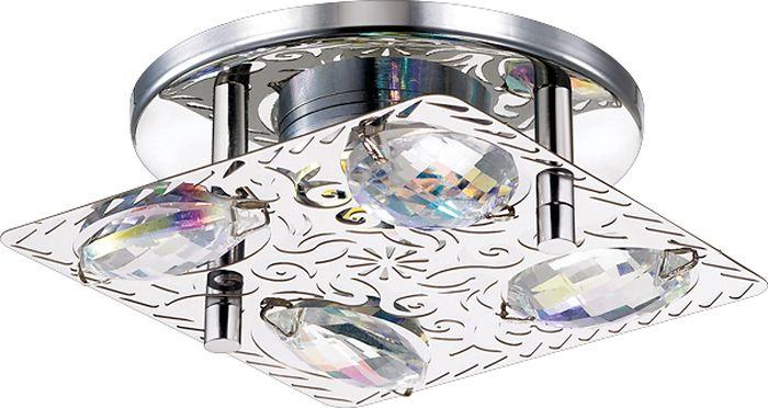 Светильник встраиваемый Novotech Mai, цвет: прозрачный, LED, 9 Вт. 357147357147