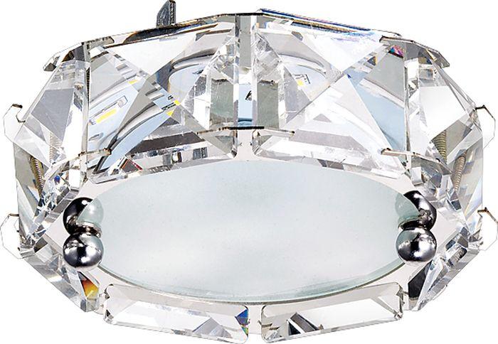 Светильник встраиваемый Novotech Neviera 344, цвет: прозрачный, LED, 9 Вт. 357148357148