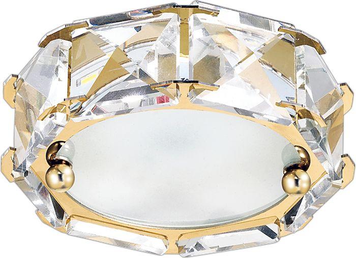 Светильник встраиваемый Novotech Neviera 344, цвет: прозрачный, LED, 9 Вт. 357149357149