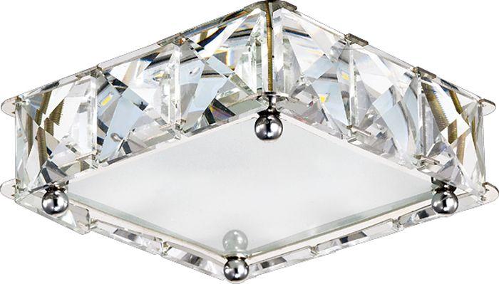 Светильник встраиваемый Novotech Neviera 345, цвет: прозрачный, LED, 16 Вт. 357150357150