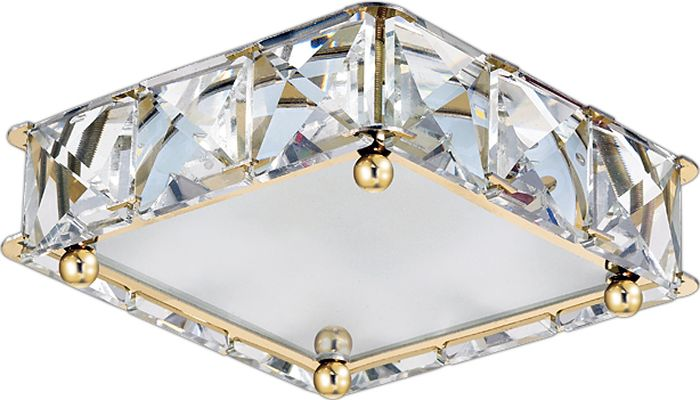 Светильник встраиваемый Novotech Neviera 345, цвет: прозрачный, LED, 16 Вт. 357151357151