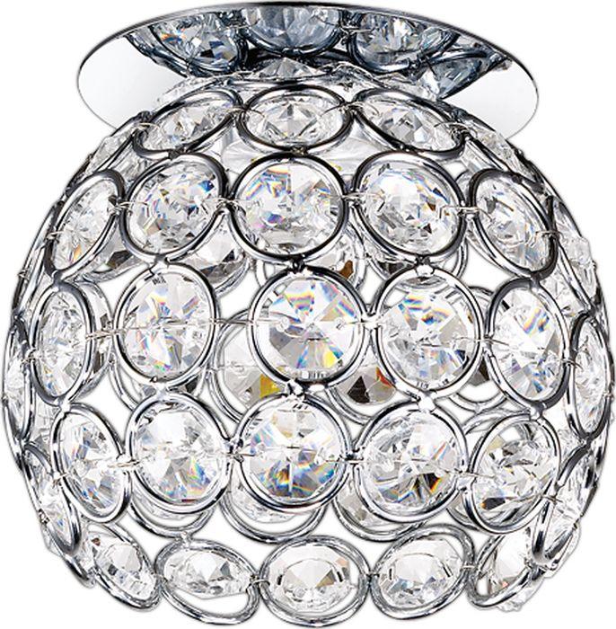 Светильник встраиваемый Novotech Elf-LED, цвет: прозрачный, LED, 9 Вт. 357155357155