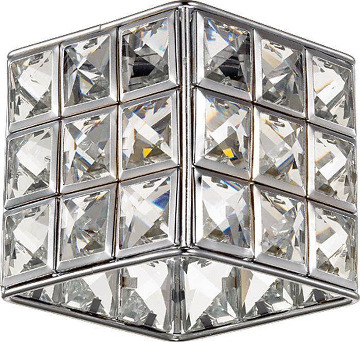 Светильник встраиваемый Novotech Elf-LED, цвет: прозрачный, LED, 9 Вт. 357157357157