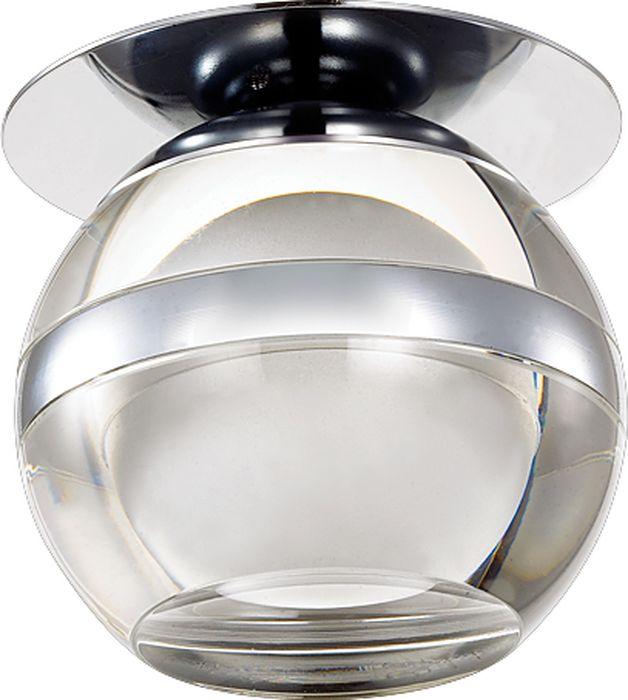 Светильник встраиваемый Novotech Calura, цвет: белый, LED, 9 Вт. 357158357158