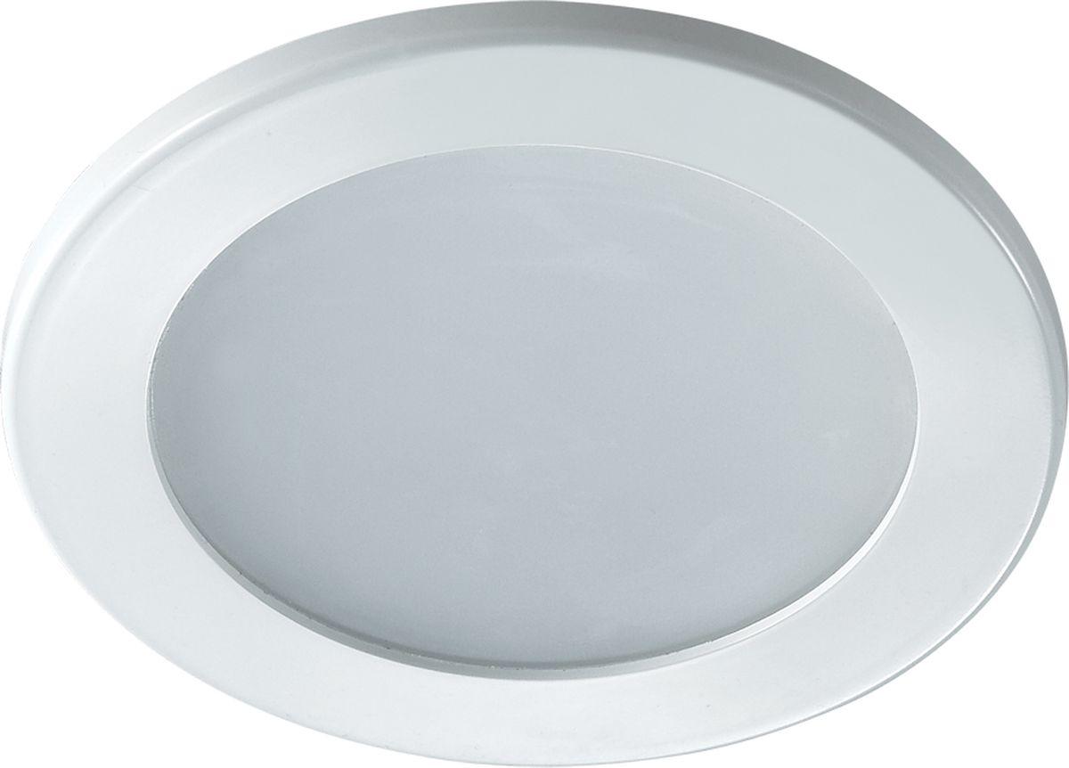Светильник встраиваемый Novotech Luna, цвет: белый, LED, 1,8 Вт. 357168357168