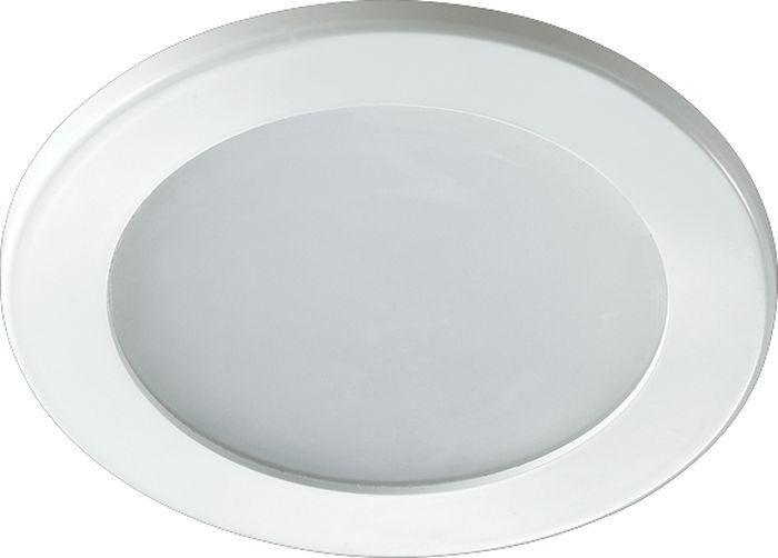 Светильник встраиваемый Novotech Luna, цвет: белый, LED, 1,8 Вт. 357169357169