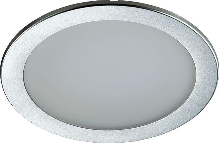 Светильник встраиваемый Novotech Luna, цвет: белый, LED, 4,8 Вт. 357182357182