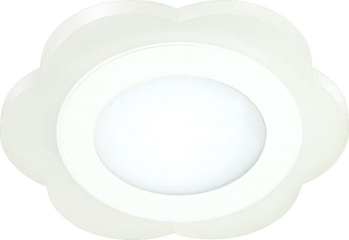 Светильник встраиваемый Novotech Lago, цвет: белый, LED, 6 Вт. 357318357318