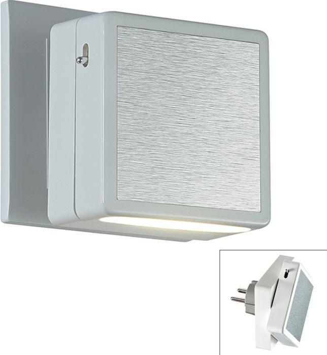 Cветильник настенный Novotech Night Light, цвет: серый, LED, 0,6 Вт. 357320357320