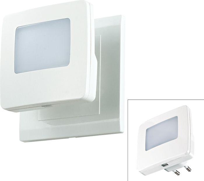 Cветильник настенный Novotech Night Light, цвет: белый, LED, 0,3 Вт. 357329357329