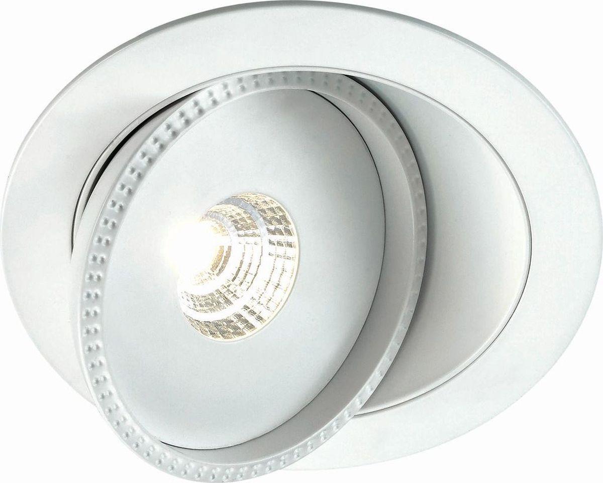 Светильник встраиваемый Novotech Gesso, цвет: белый, LED, 3,5 Вт. 357347357347