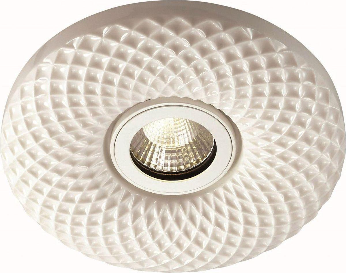 Светильник встраиваемый Novotech Ceramic Led, цвет: белый, LED, 5 Вт. 357348357348