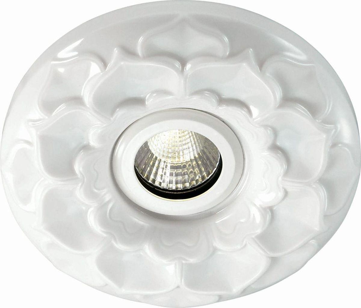 Светильник встраиваемый Novotech Ceramic Led, цвет: белый, LED, 5 Вт. 357349357349